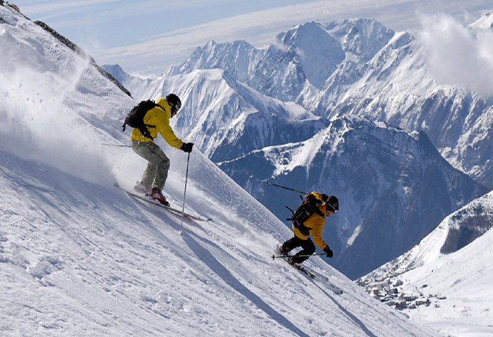 Image result for Skiing in Kashmir