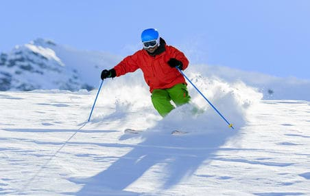 Snow Skiing in Gulmarg